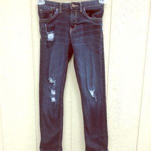 Levi's Girlfriend Jeans size 10R girls'